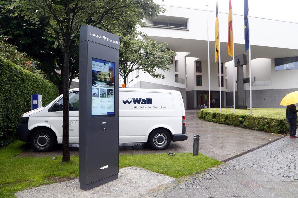 WALL Säule vor der Landesvetretung Baden-Württemberg, Copyright: Sven Darmer, 17.06.2016